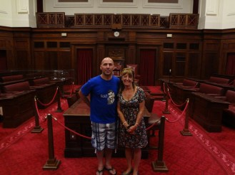 In the old parliament building