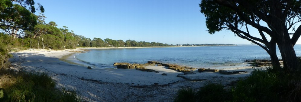 Parama view on Jervis bay taken from Vincentia.