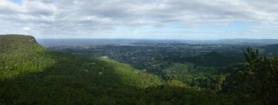 Parama of Wollongong from the Mt. Kembla lookout