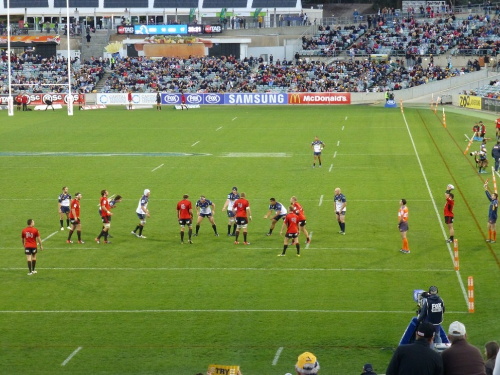 The Brumbies have an attacking line-out