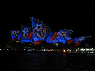 The Opera House gets in on the act ...