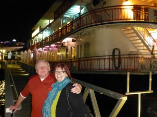 Barbara & Lawrence after the cruise.