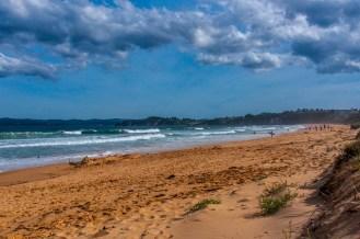Aslings Beach looking south