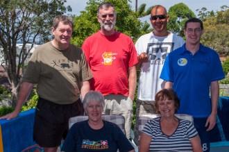The gang at Mollymook