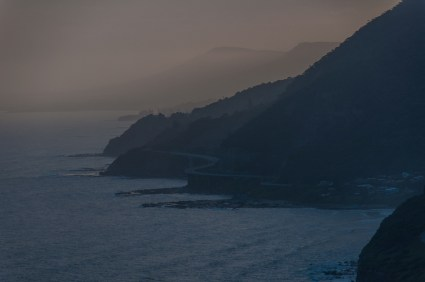 the Sea Cliff Bridge from Stanwell Park Lookout
