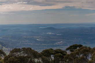 Tuggeranong and Canberra in the distance