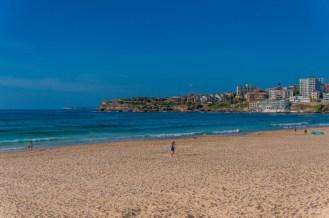 An empty Bondi Beach