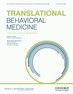 Logo for the journal Translational Behavioral Medicine