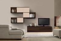 Living Room Furniture Wall Units