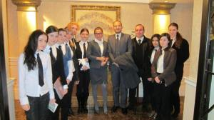 YES AYS Hospitality Team at Marriott Tbilisi