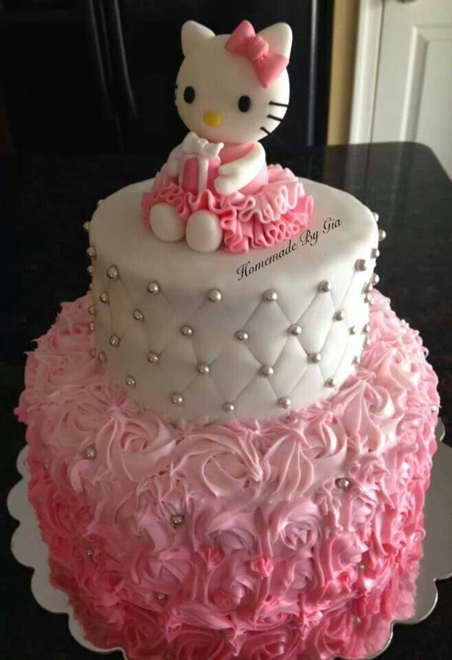 Birthday Cakes Hello Kitty Birthday Cake Yesbirthday Home Of
