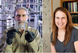 Soldan sağa: Daniel Nocera ve Pam Silver