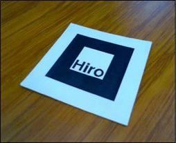 AR Hiro marker