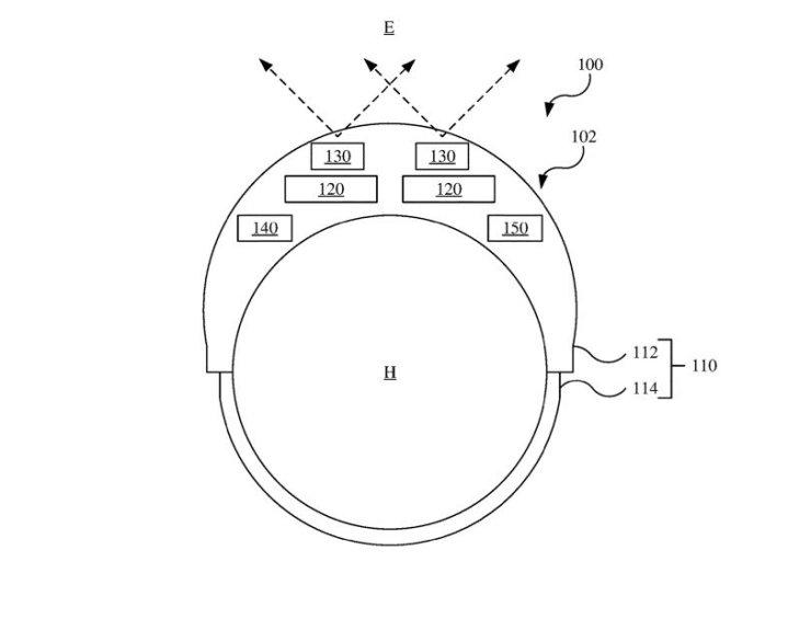 Gogle AR/VR wraz z sensorem LiDAR.