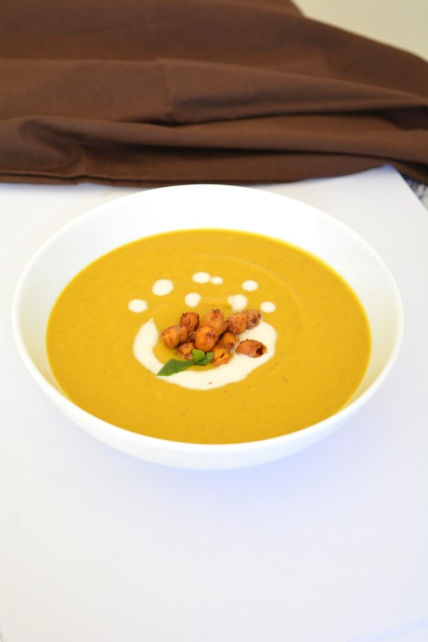 Butternut Pumpkin Soup from Yes, I am Vegan