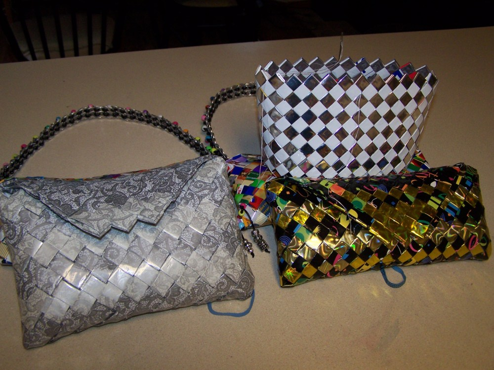 Candy Wrapper Purses (3/3)