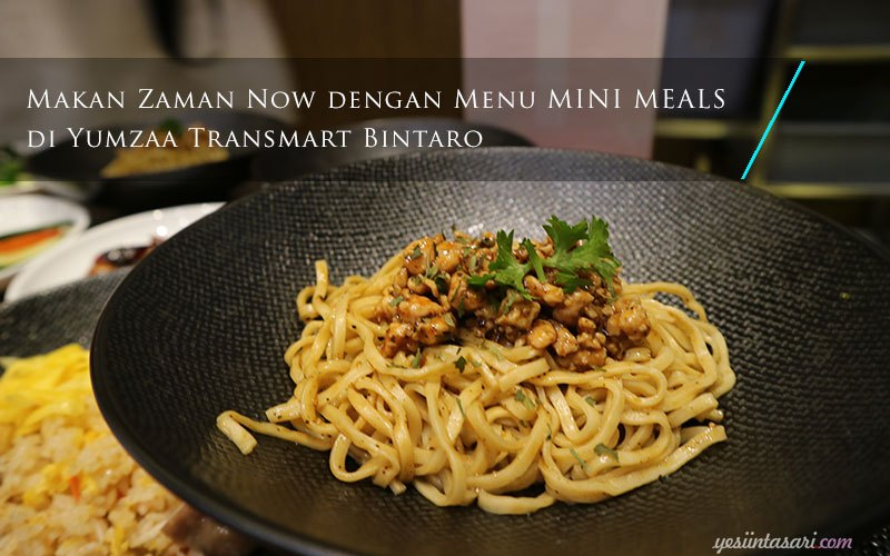 Menu MINI MEAL di Yumzaa