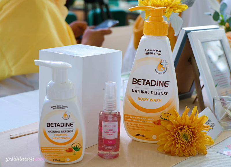 review betadine natural defense