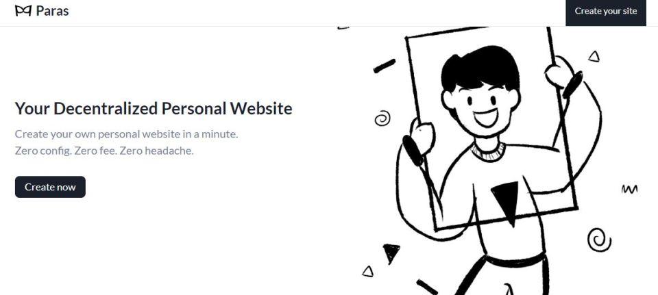bikin personal website di paras.id
