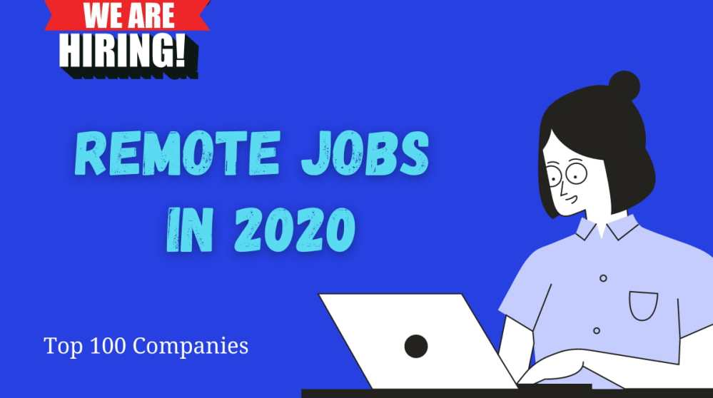 Remote Jobs in 2020