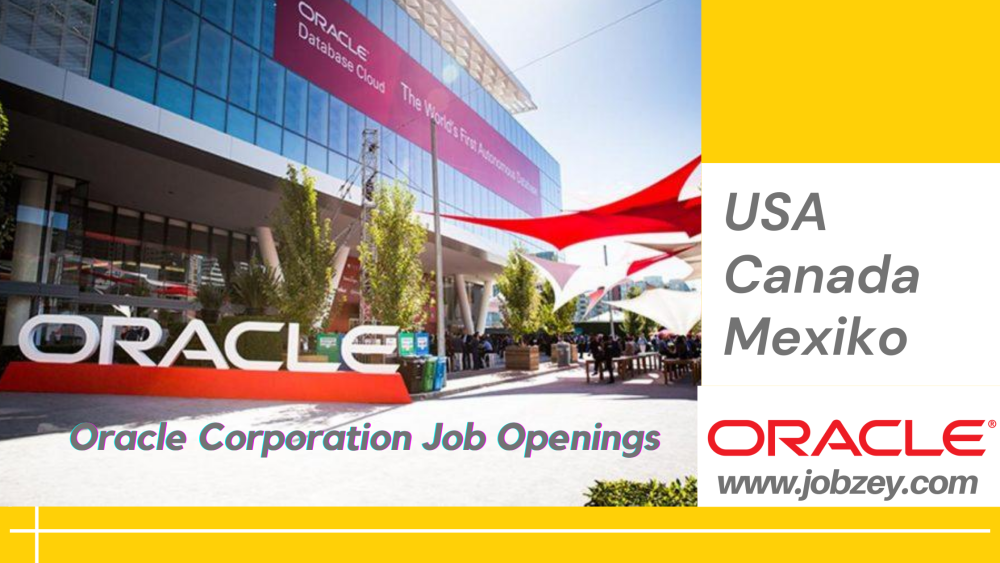Oracle Corporation Job Openings