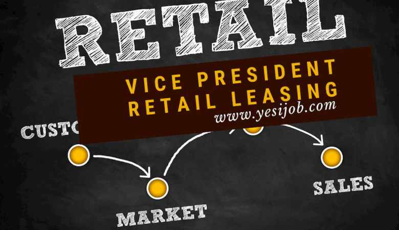 Vice President, Retail Leasing