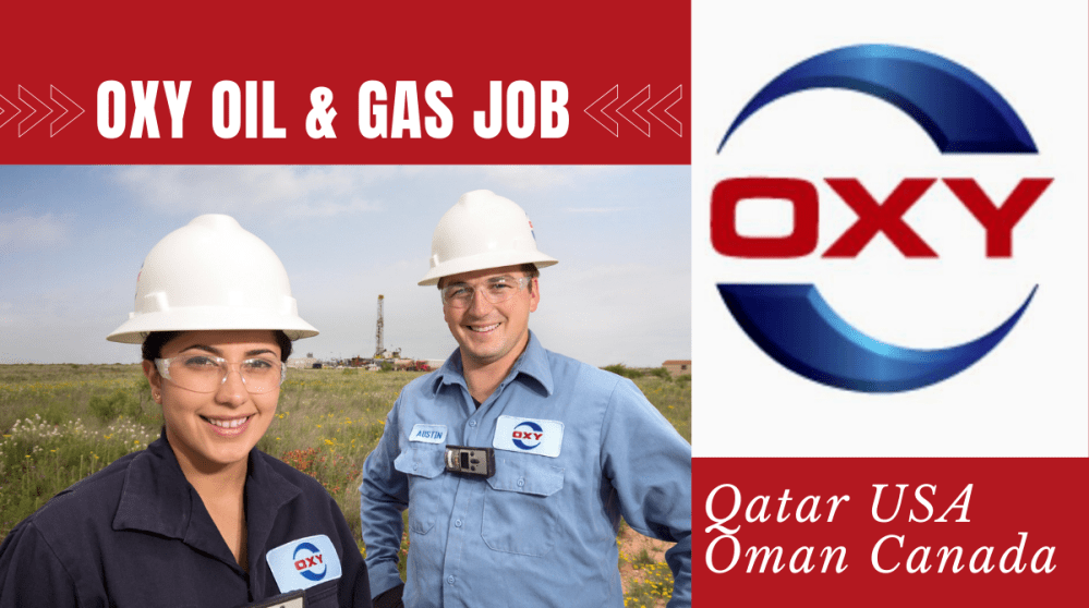 OXY Oil and Gas Job Vacancies