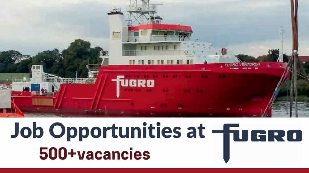 Job Opportunities at Fugro