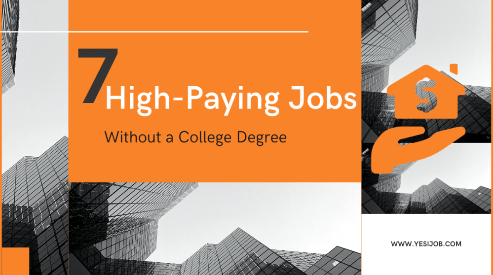 High-Paying Jobs Without a College Degree