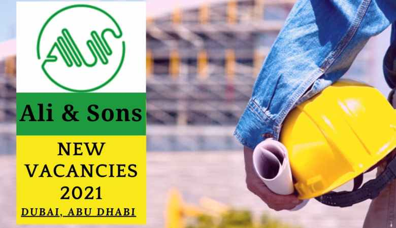 Ali and Sons Careers