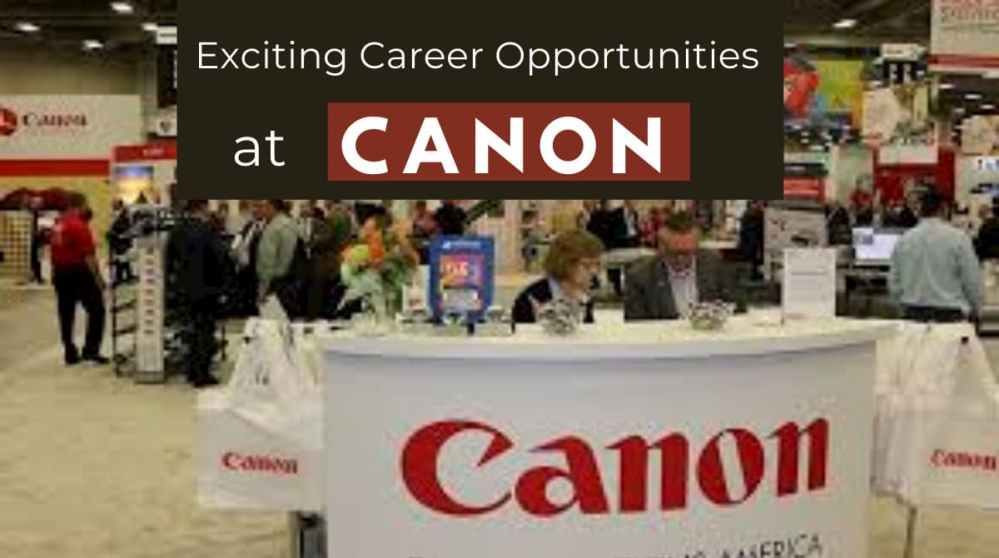 Opportunities at Canon