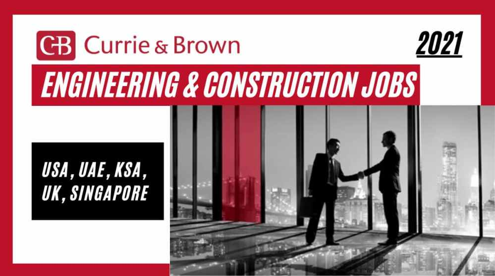 Currie and Brown Job Vacancies