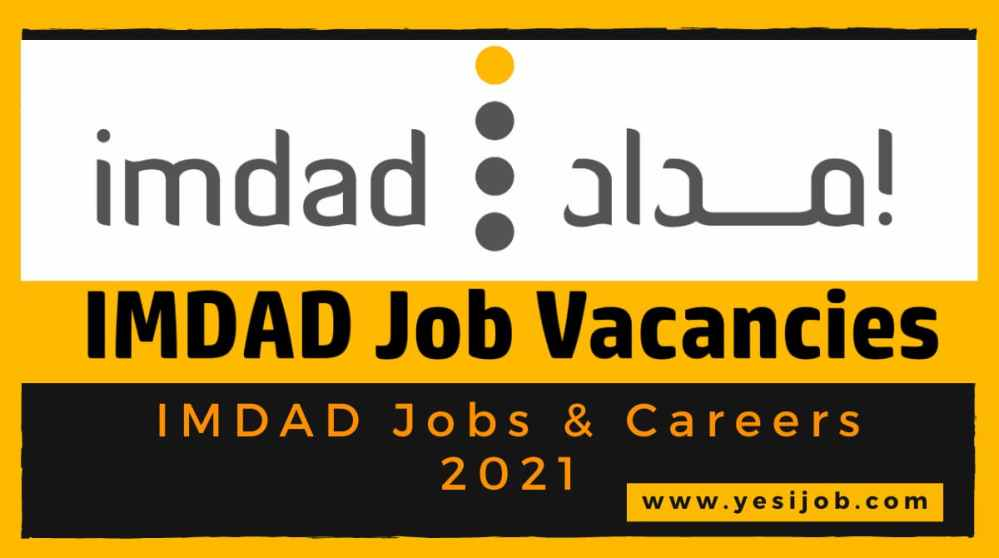 IMDAD Jobs & Careers 2021