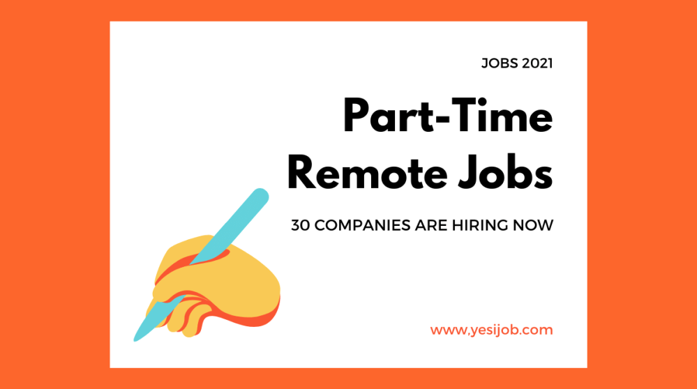 Part-Time Remote