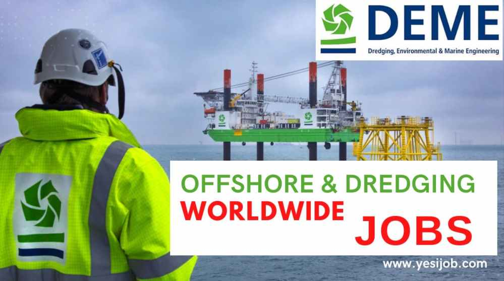 Job Vacancies at DEME Group