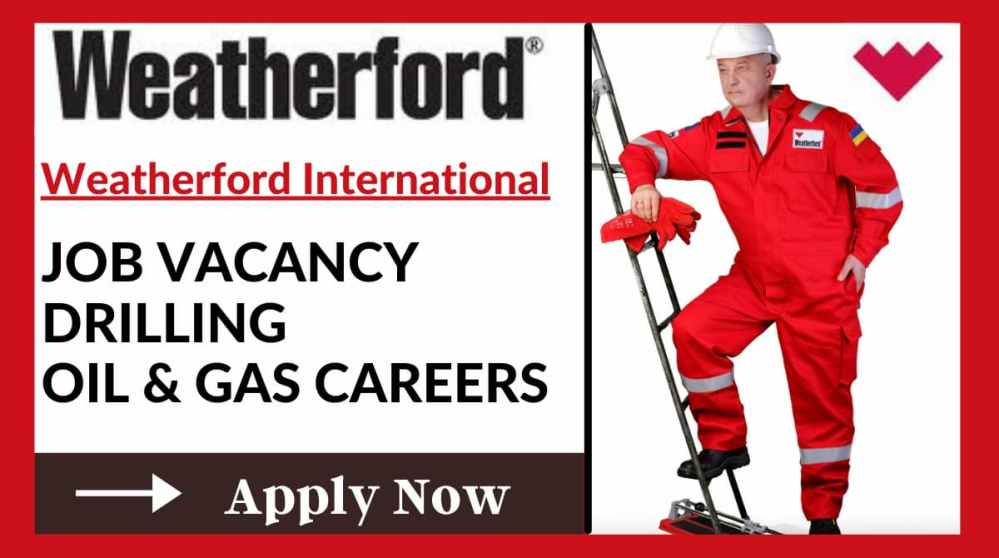 Weatherford Job Vacancy
