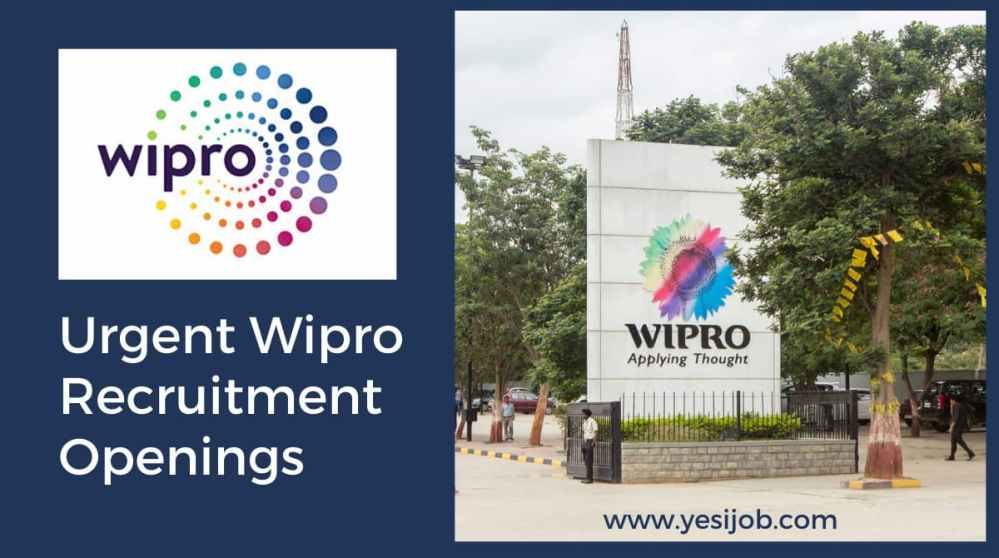 Wipro Careers Job Vacancy