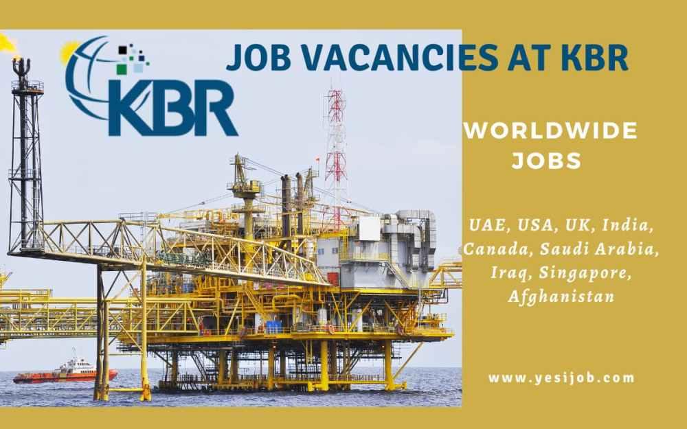 KBR Job Vacancies