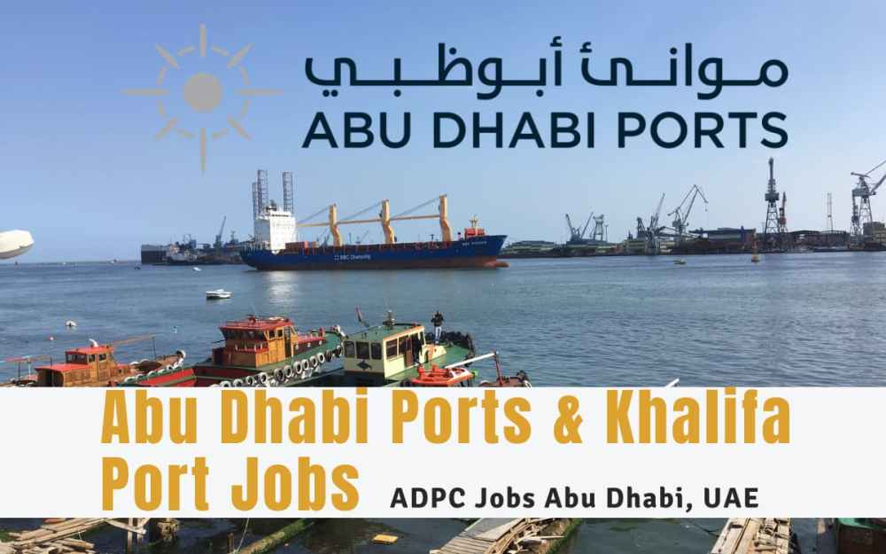 Abu Dhabi Ports Job Vacancy: