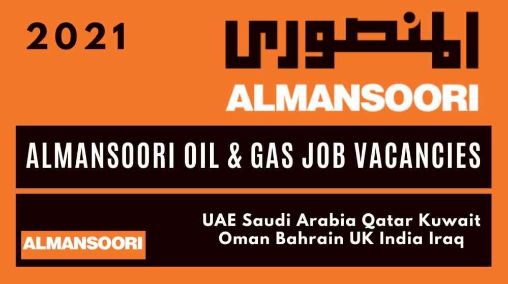Job Vacancies At AlMansoori