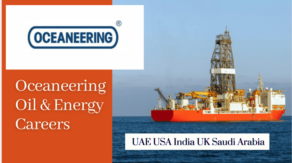 Oceaneering Job Vacancies