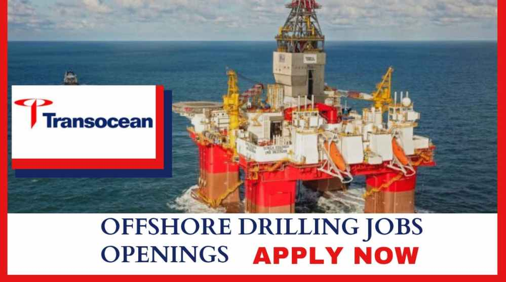 Transocean Offshore Drilling Job