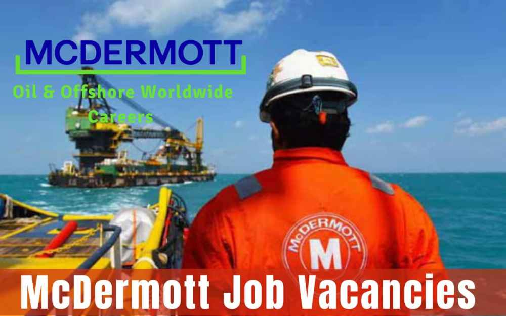 McDermott Job Vacancies
