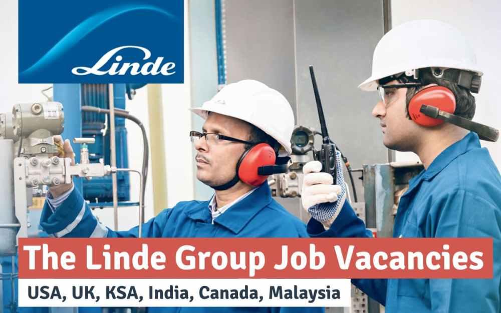 The Linde Group Job Vacancy