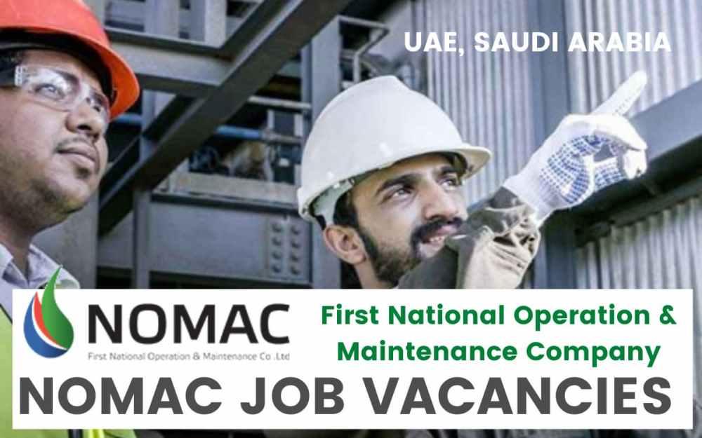 NOMAC Job Opportunities