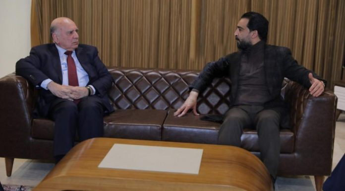 Al-Halbousi discusses with the Minister of Finance the political situation in Iraq IMG-20200213-WA0003-800x445-1