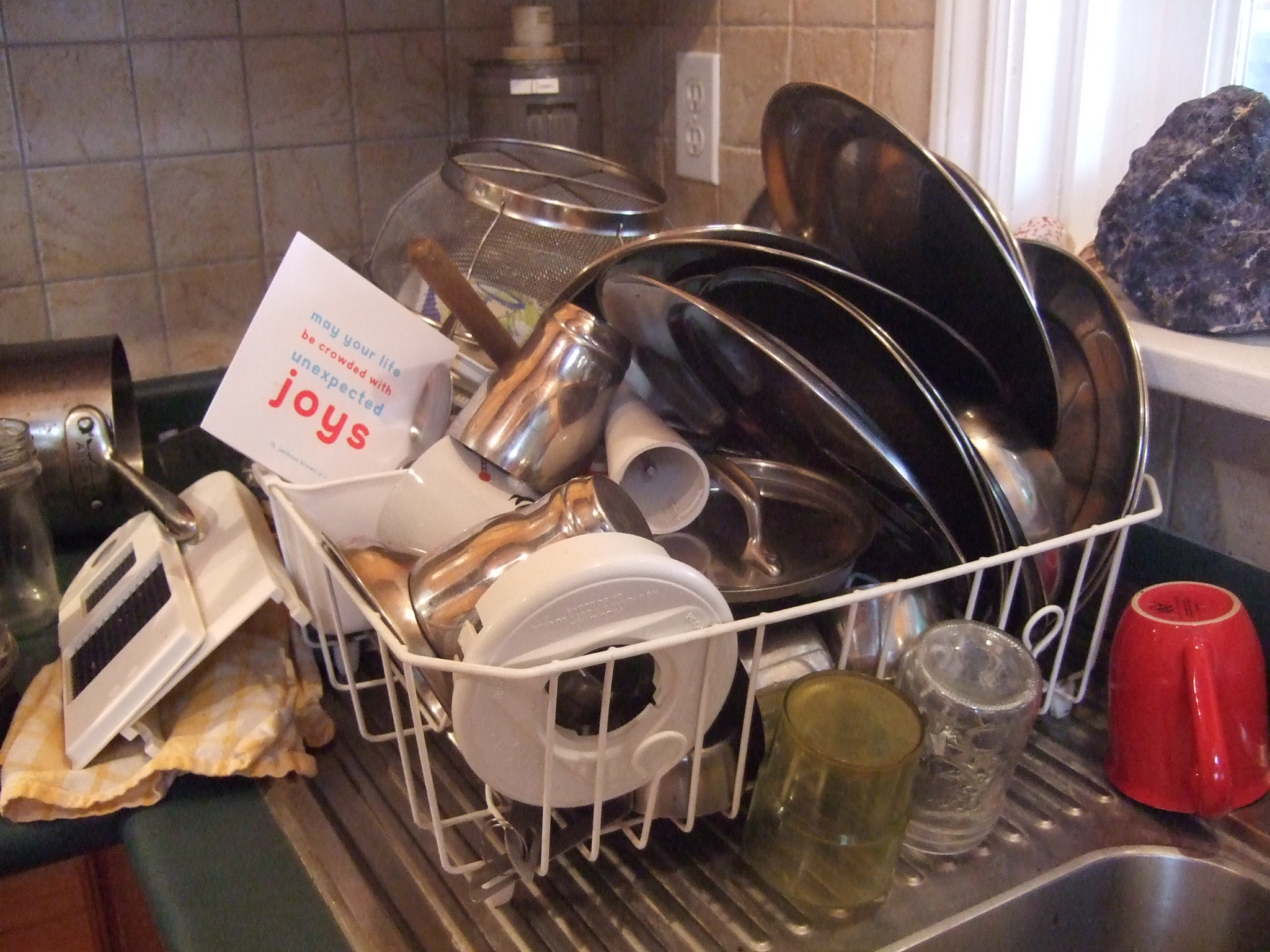 Dishes are like thoughts…..