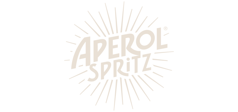 Aperol Spritz logo with transparent background on YesMore Social Media Marketing Agency landing page