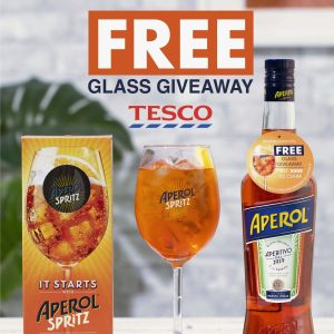Tesco Instagram Content by Ed Brown for Aperol Spritz by YesMore Off Trade Marketing Agency