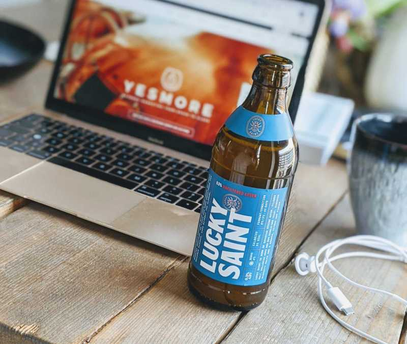 Alcohol free drinks such as Lucky Saint alcohol free beer are great for trying during mental health awareness week - YesMore Alcohol Free Marketing Agency